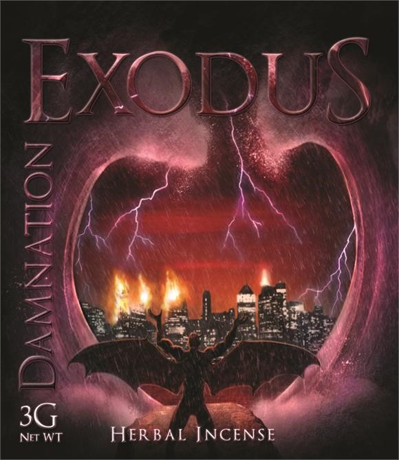 Mary Joy Exodus Damnation Herbal Incense Review