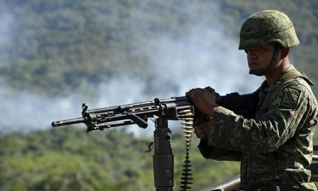 army on mexican drug cartel