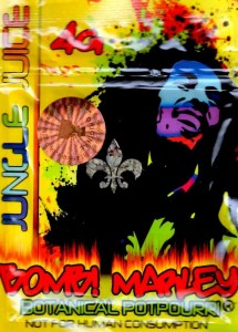 bomb marley herbal incense