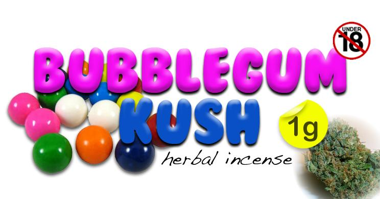 bubblegum kush herbal incense