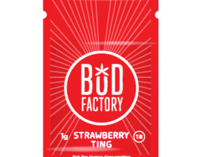 Budfactory strawberry ting review