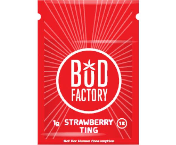 bud factory strawberry ting herbal incense