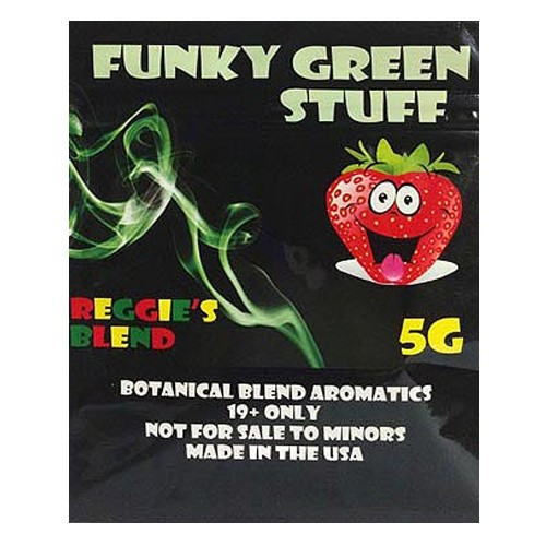 Funky green stuff incense review