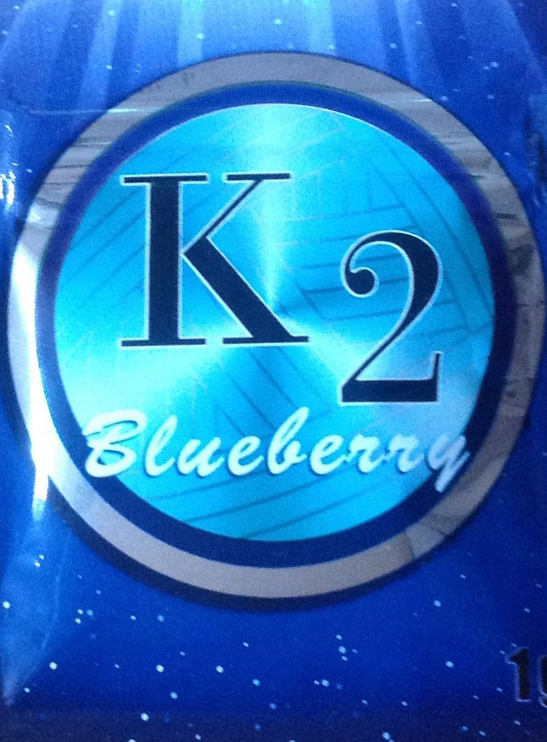 K2 Blueberry incense review
