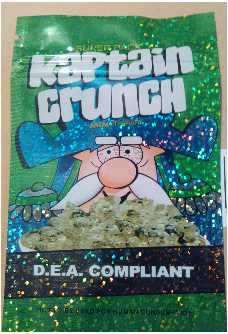 Kaptain Crunch legal high