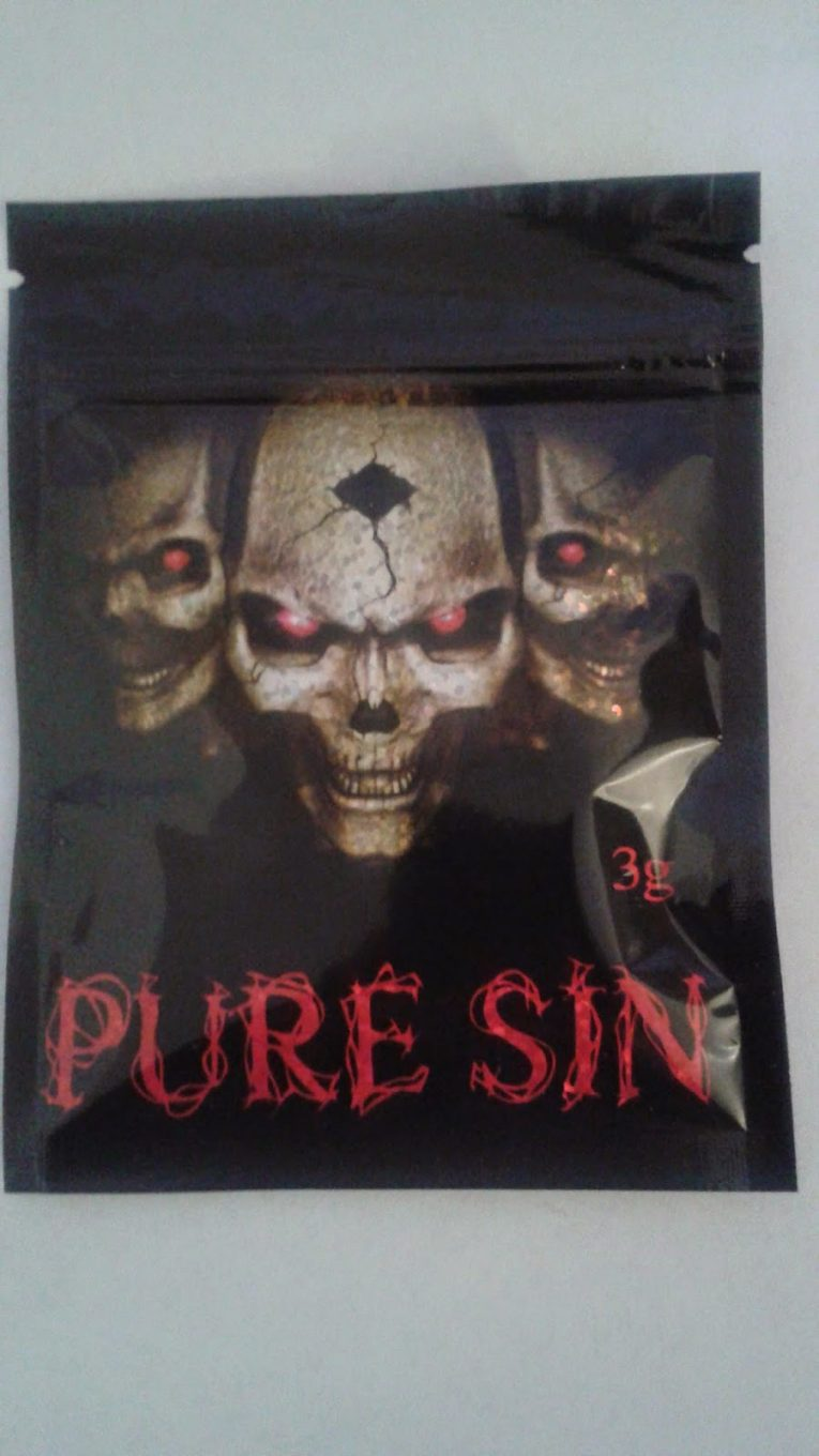 pure sin herbal incense