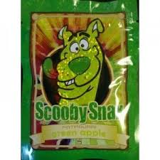 Scooby Snax Green Apple review