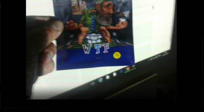 WTF Blueberry incense review